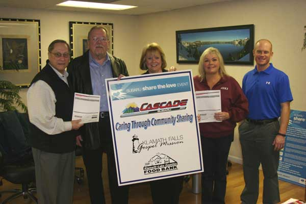 Cascade Subaru Share the Love Event