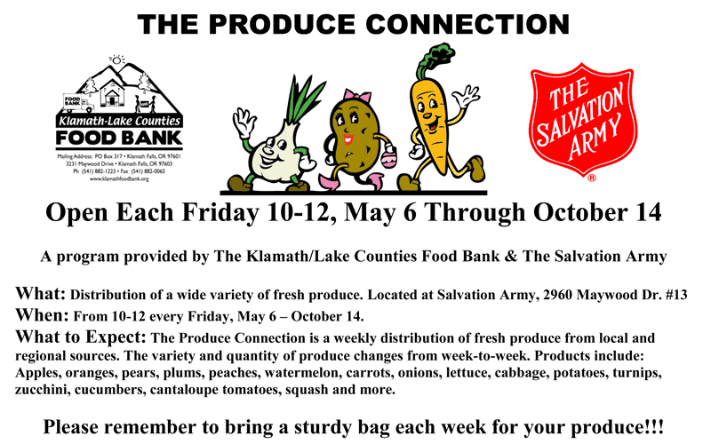 Produce Connection home page 2016