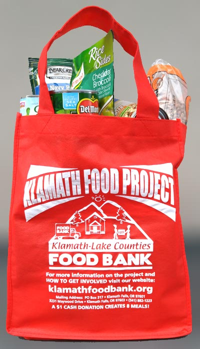klamath food project bag